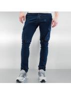 2Y Spodnie Chino/Cargo Velcro Closure niebieski