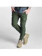 2Y Spodnie Chino/Cargo Pain oliwkowy