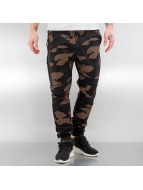 2Y Spodnie do joggingu Oldbury brazowy