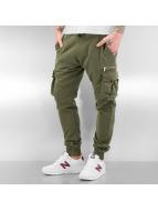 2Y Spodnie do joggingu Cargo khaki