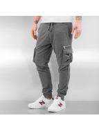 2Y Spodnie do joggingu Cargo szary