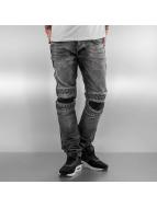 2Y Straight Fit Jeans Knee grau