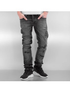 2Y Straight Fit Jeans Ixelles gri