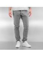 2Y Straight Fit Jeans Aivaras gri