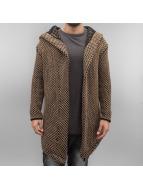 2Y Swetry rozpinane Quirin brazowy