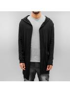 2Y Swetry rozpinane Lewin czarny