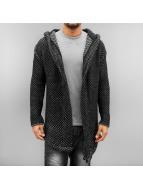 2Y Swetry rozpinane Quirin czarny