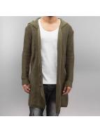 2Y Swetry rozpinane Habib khaki