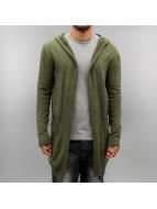 2Y Swetry rozpinane Lewin khaki