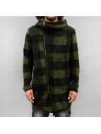 2Y Swetry rozpinane Tayric khaki