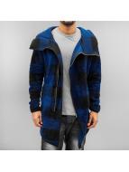 2Y Swetry rozpinane Tayric niebieski