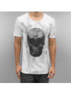 2Y T-paidat Skull valkoinen