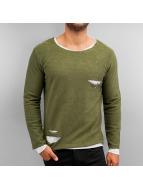 2Y T-Shirt manches longues Pett kaki