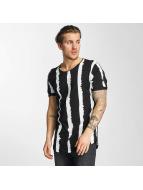 2Y T-shirt Stripes nero