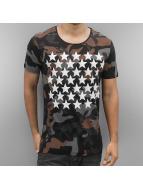 2Y T-Shirt Camo Stars schwarz