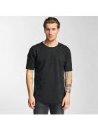 2Y T-Shirt Cuts schwarz