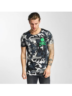 2Y t-shirt Camo zwart