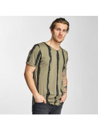 2Y T-shirts Stripes khaki
