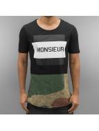 2Y T-Shirty Monsieur czarny