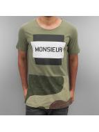 2Y T-Shirty Monsieur khaki