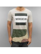 2Y T-skjorter Monsieur beige