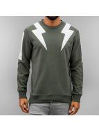 2Y trui Lightning khaki
