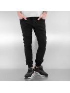2Y Tynne bukser Sheffield svart