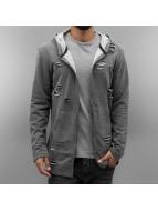 2Y Zip Hoodie Cuts серый