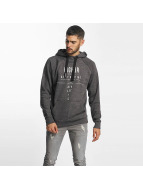 98-86 Sweat capuche Higher gris