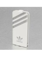 adidas Étui de téléphone portable Flip Case blanc