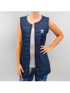 adidas Безрукавка Long Vest индиго