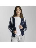 adidas Демисезонная куртка Firebird синий