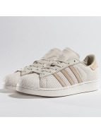 adidas Сникеры Superstar Fashion J бежевый