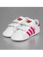 adidas Сникеры Superstar Crib белый