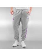 adidas Спортивные брюки Real Madrid 3-Stripes серый