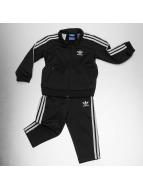 adidas Anzug Firebird schwarz