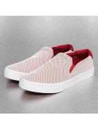 adidas Baskets Court Slip On rouge