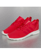 adidas Baskets ZX Flux ADV Smooth rouge