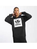 adidas Bluzy z kapturem Solid BB czarny