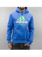 Adidas Boxing MMA Bluzy z kapturem Community niebieski