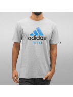 Adidas Boxing MMA Community T-Shirt Grey/Solar Blue