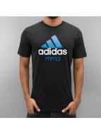 Adidas Boxing MMA T-paidat Boxing MMA Community MMA musta