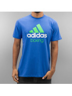 Adidas Boxing MMA Community T-Shirt Light Blue/Fluo Green