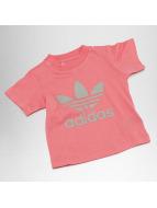 adidas Camiseta Trefoil fucsia