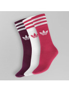 adidas Chaussettes Solid Crew rose