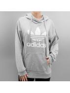 adidas Hoodies Trefoil grå