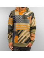 adidas Hoodies Mad Plaid renkli