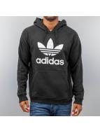 adidas Hoodies Originals Trefoil svart