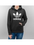 adidas Hoodies Trefoil Logo svart