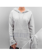 adidas Hoody Three Stripes grau